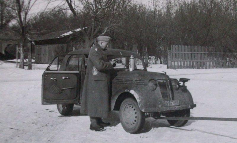 Оккупанты в городе. Февраль 1943 г.