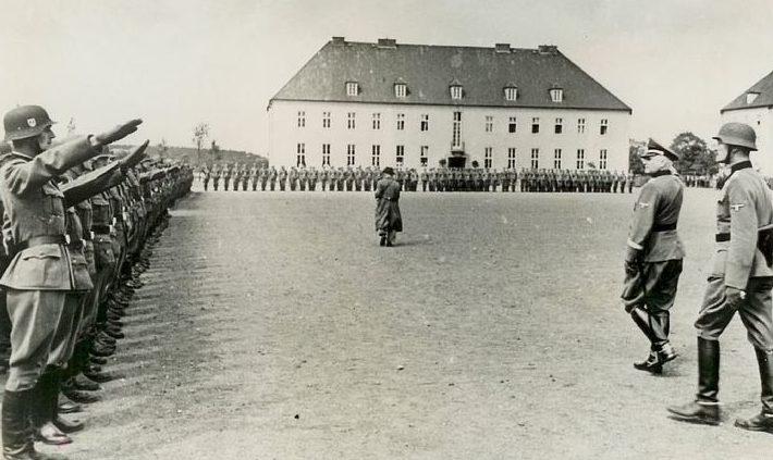 Свободный Корпус Дании в Копенгагене. 1941 г.