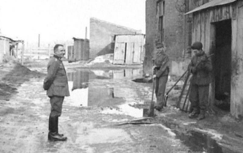 Город в оккупации. Весна 1943 г.