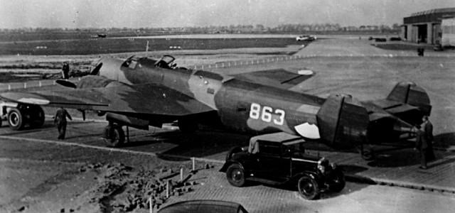 Бомбардировщик Fokker T.V. 1939 г.