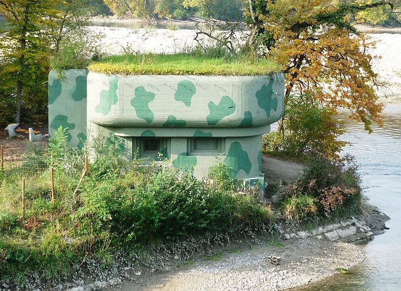 Пулеметно-артиллерийские ДОТы.