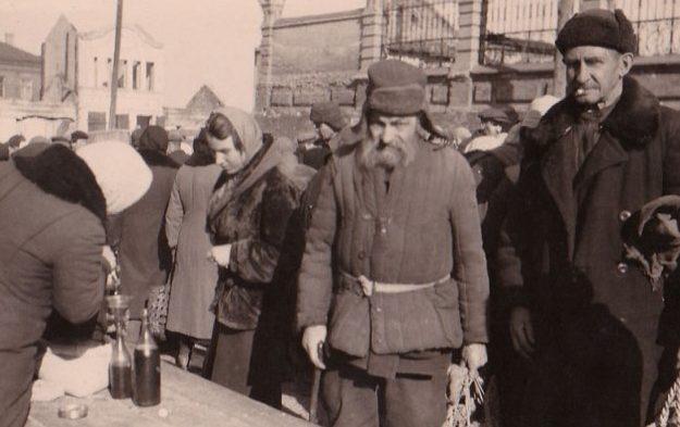 Базар. Осень 1942 г.