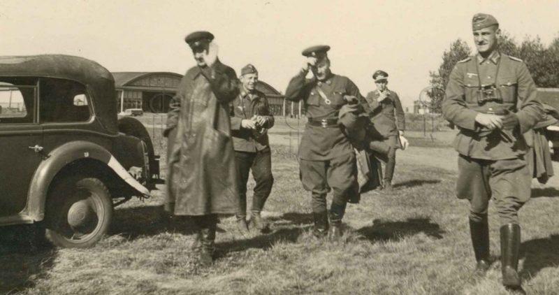 Пленение генерала Красной Армии. Август 1941 г.