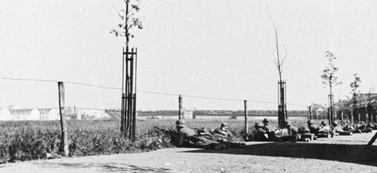 Бой за Маастрихт. 10 мая 1940 г.