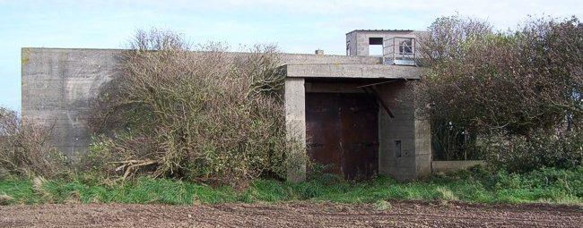 Бункер для боеприпасов.