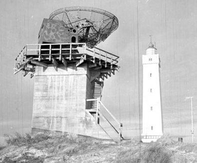 Радар FuMO 214 «Вюрцбург-Ризе» в Юго-Западной Ютландии Атлантического вала. 1943 г.