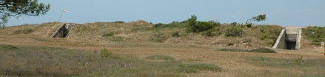 Бункеры для хранения боеприпасов.