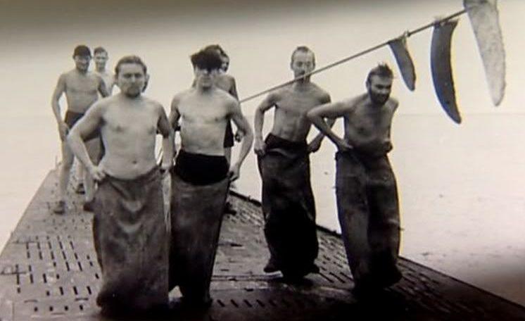 «Детские игры» на палубе подлодки «U-123». Июль 1942 г.