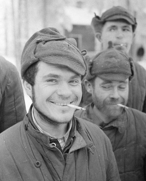 Красноармейцы в плену. Декабрь 1939 г.