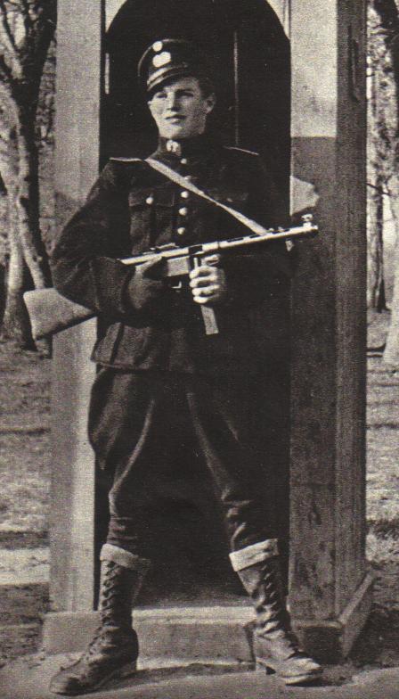 Полицейский датского корпуса вспомогательной полиции. 1944 г.
