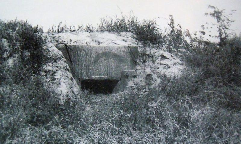 Захваченные немецкие ДОТы. 10 сентября 1943 года.