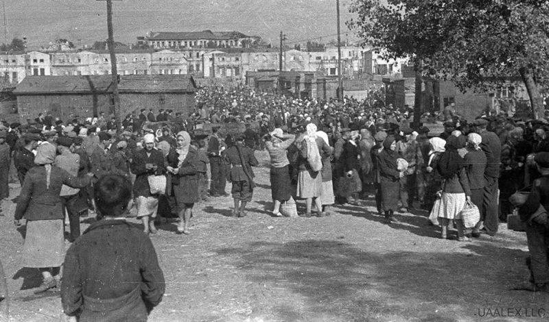 Рынок «Озерка». 1943 г.