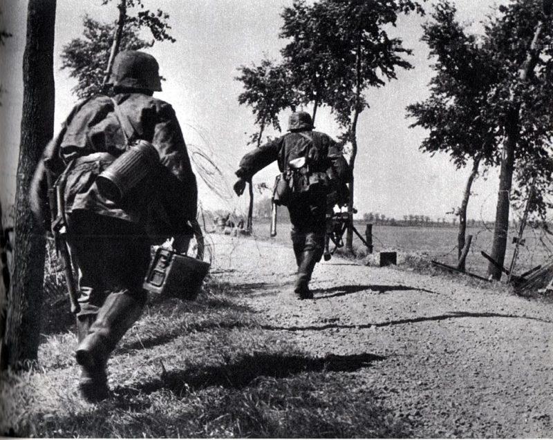 Бои в провинции Зеландии. 16 мая 1940 г.