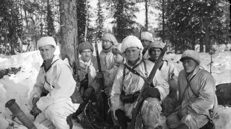 Финская разведывательно-диверсионная группа. Декабрь 1939 г.