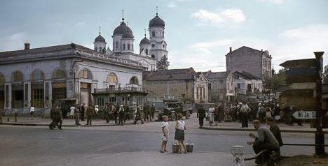Днепропетровск в оккупации. Август 1943 г.