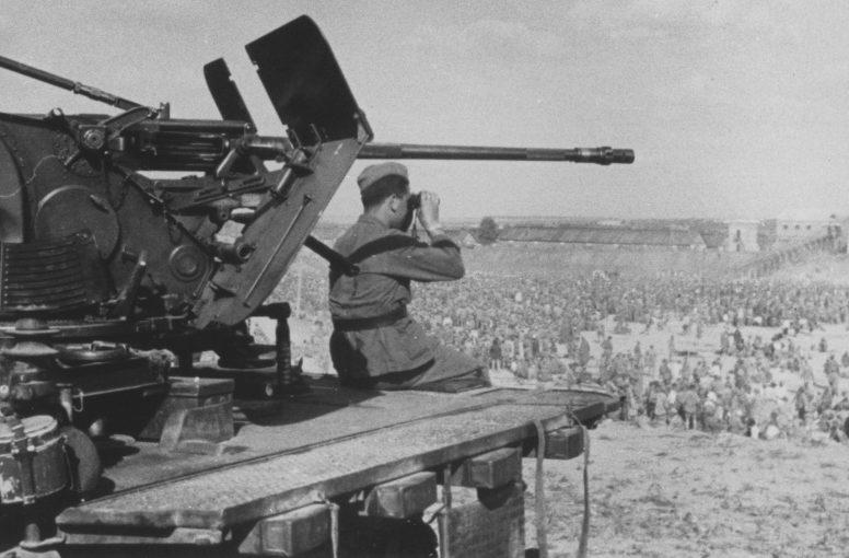 Охрана «Уманьской ямы». Август 1941 г.