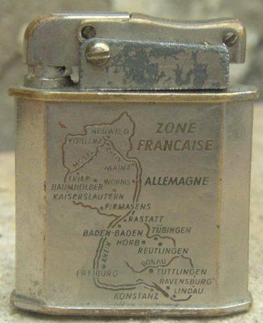 Зажигалка немецкой фирмы KW, выпускалась с 1945 года.