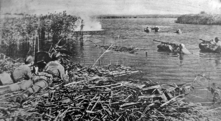 Форсирование Днепра. 23 октября 1943 г.