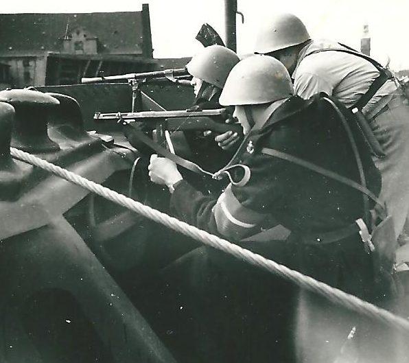 Группа Сопротивления в порту. 5 мая 1945 г.