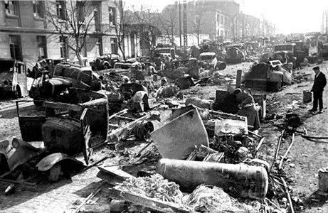 Улица Артема. Сентябрь 1943 г.