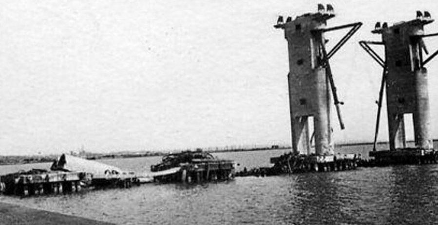 Порт Мариуполь. Сентябрь 1943 г.