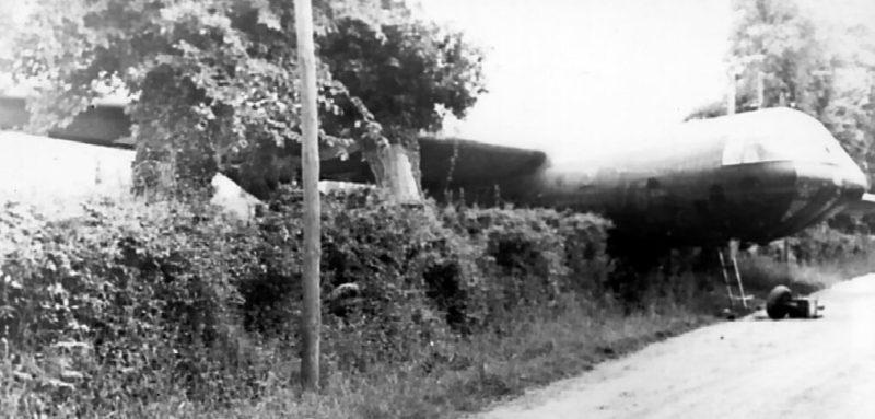 Разбившийся планер союзников. 6 июня 1944 г.
