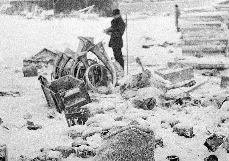 Опись финном советских трофеев. Январь 1940 г.