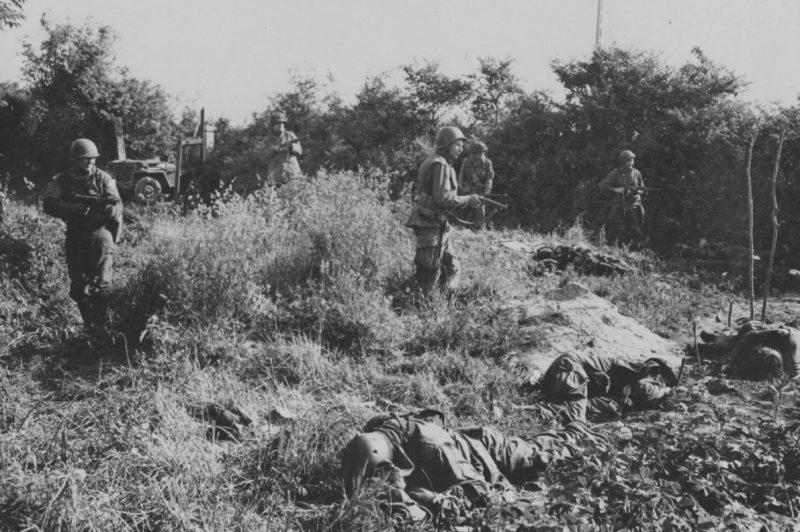 Британские коммандос в тылу противника. 6 июня 1944 г.