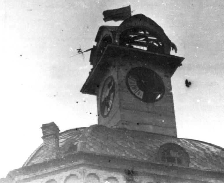 Красное знамя над Винницей. 2 марта 1944 г.