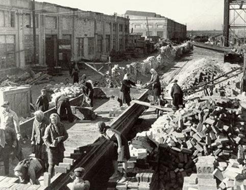 Восстановление Азовстали. Сентябрь 1943 г.