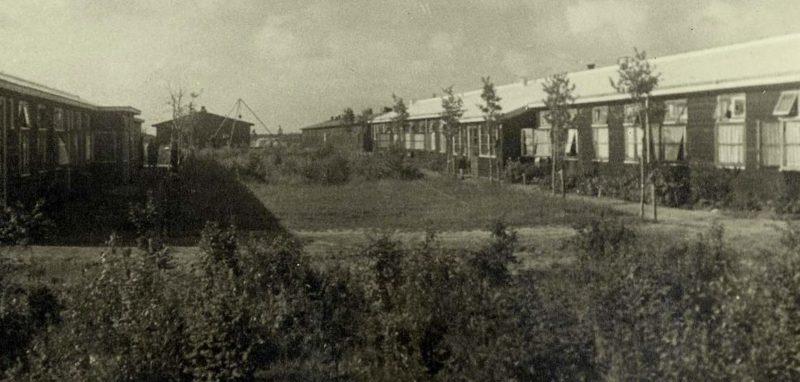 Бараки концлагеря в Вестерборке. 1943 г.