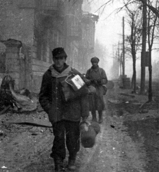 Пленный немец. 2 марта 1944 г.