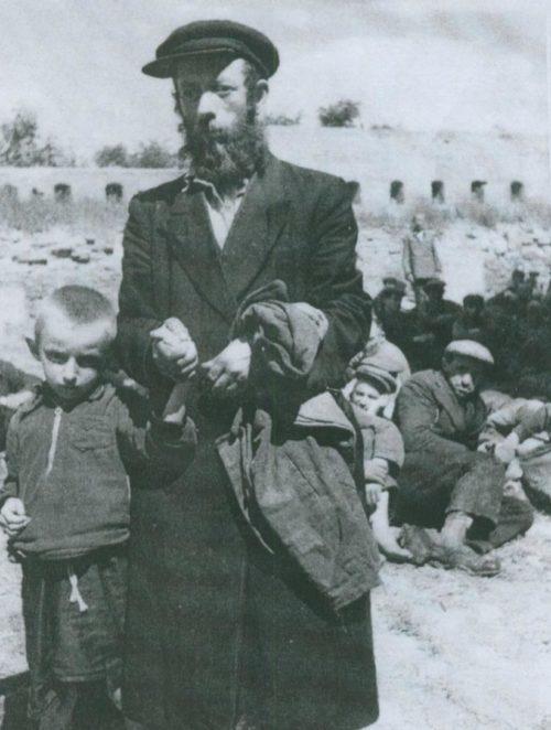 Уманьское гетто. Сентябрь 1941 г.