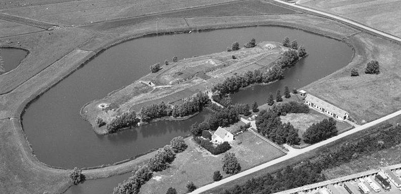 Форт Veldhuis с высоты.