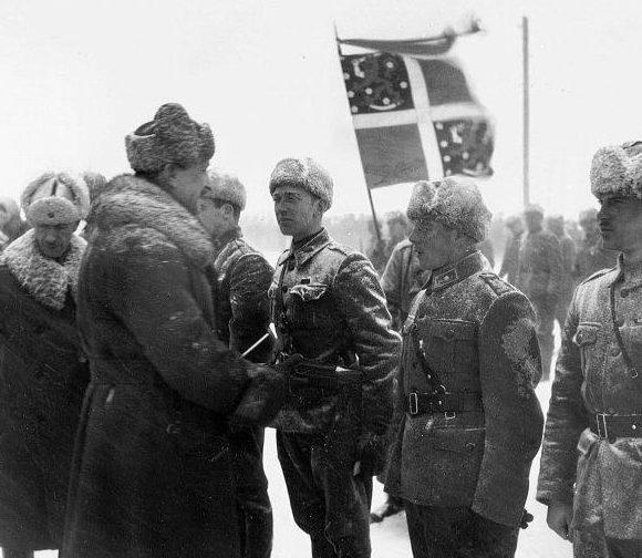 Шведские добровольцы на службе у финнов. Январь 1940 г.
