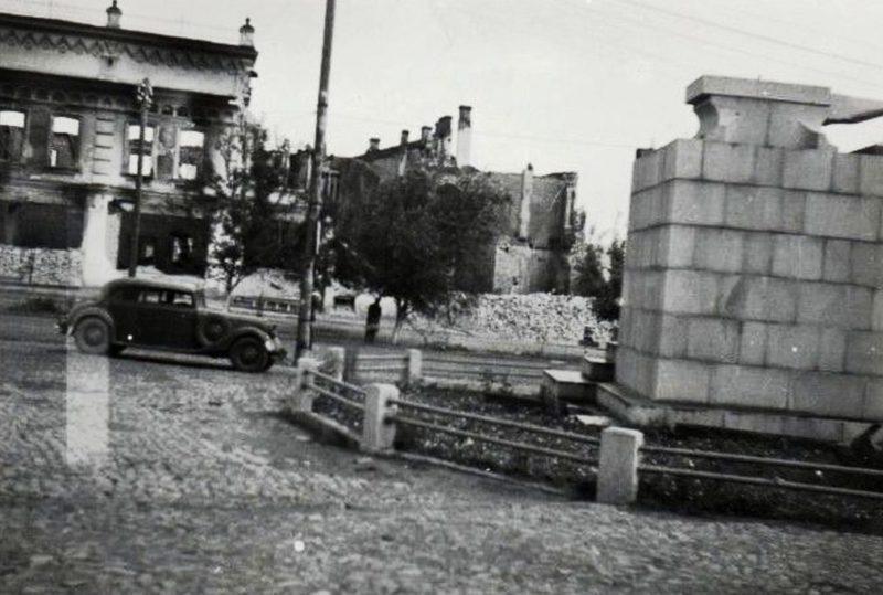Город в оккупации. Весна 1942 г.