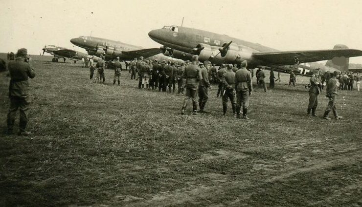 Уманьский военный аэродром. Лето 1942 г.