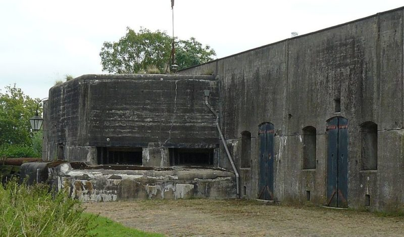 Каземат форта Uithoorn.