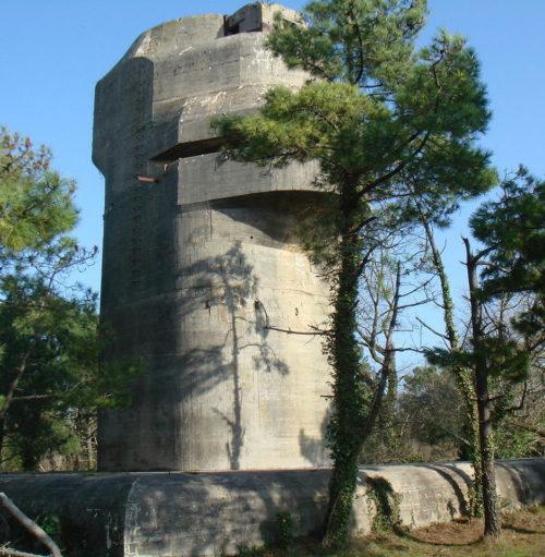 Командная башня в годы войны и сегодня.