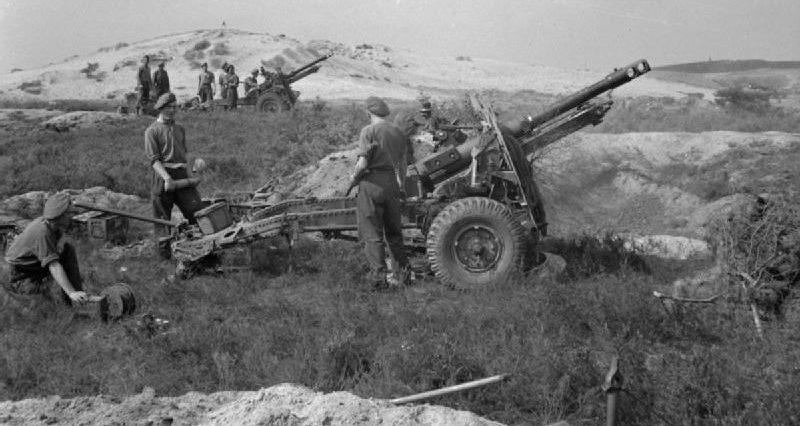 Бой на плацдарме у канала Маас-Шельде. Сентябрь 1944 г.