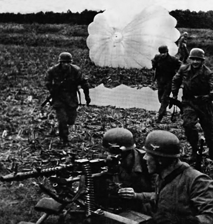 Немцы на территории «Крепости Голландии».