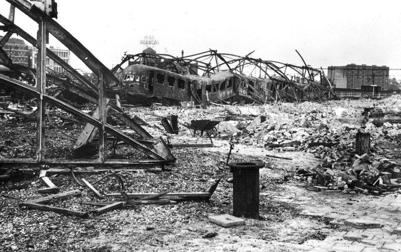 Последствия бомбардировки Роттердама 14 мая 1940 г.