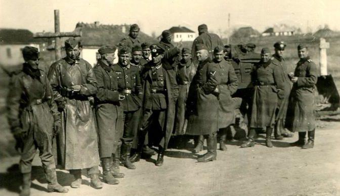 Немцы в Умани. Осень 1943 г.
