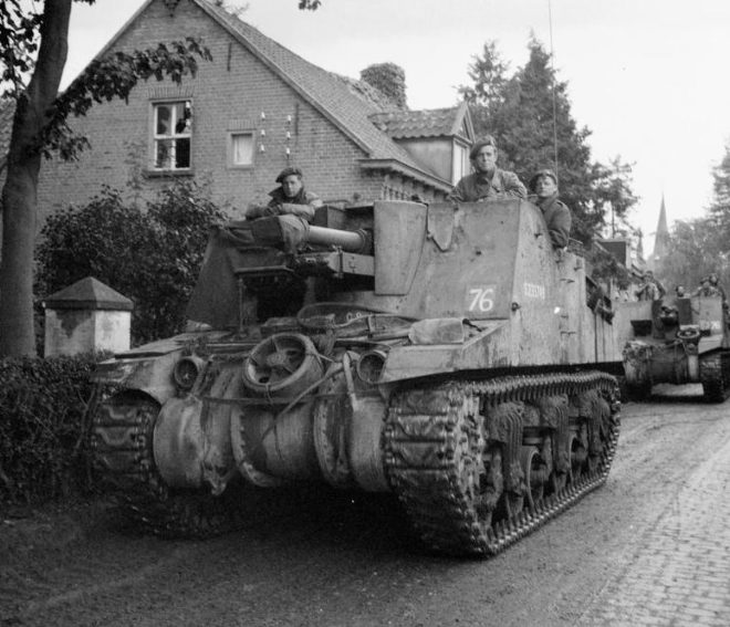 Танки союзников в Нидерландах. Сентябрь 1944 г.