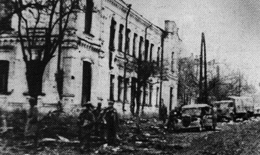 Красная Армия входит в Умань. 10 марта 1944 г.