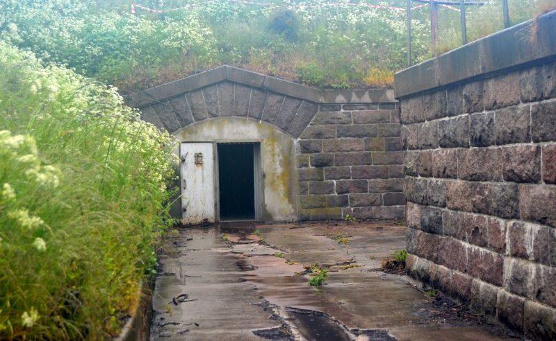 Один из входов в подземелье.