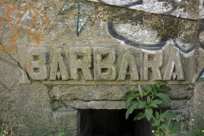 Башня управления огнем типа S487, известная под названием «Барбара».