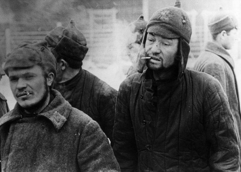 Пленные красноармейцы. Январь 1940 г.