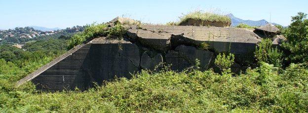 Развалины бункера М612.