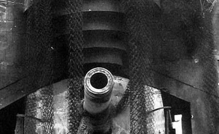 Казематы с 280-мм орудиями.